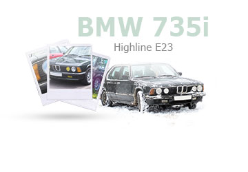 BMW 735i highline E23