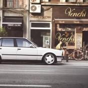 BMW 3 белая