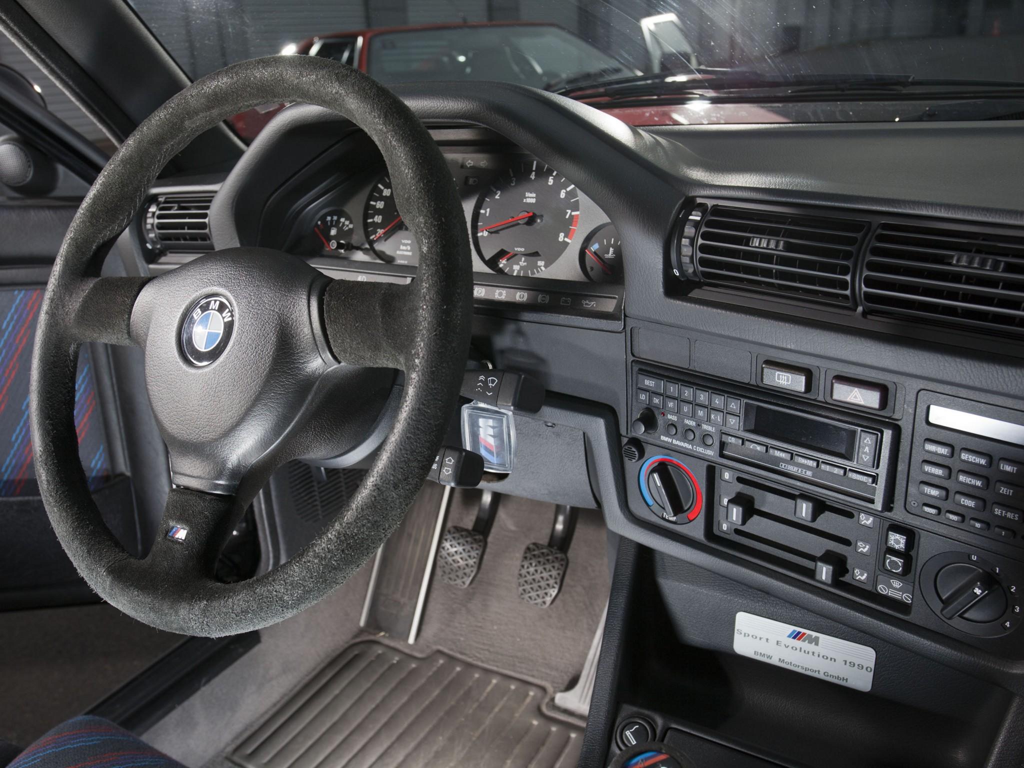 BMW 3 E30 салон