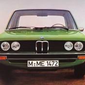 BMW E12 зеленая