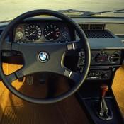 BMW 5 E12 руль