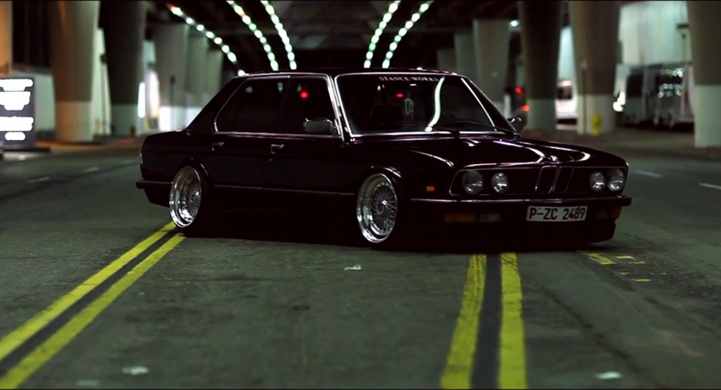 BMW E28 заниженная