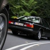 BMW 635 на дороге