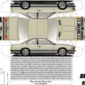 BMW 635i E24 paper