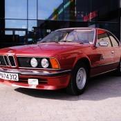 BMW 635i E24 red