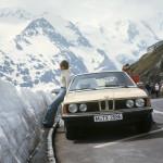 BMW E23 в горах
