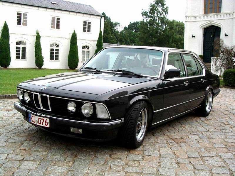 BMW E23 рестайлинг