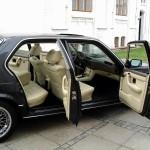 BMW 7 двухцветный салон