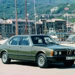 BMW 7 зеленая