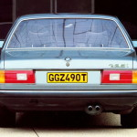 BMW 7-series задняя часть