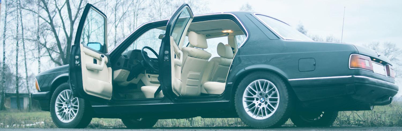 BMW 735i Highline e23 двери