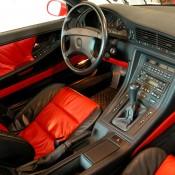 BMW 8 двухцветный салон
