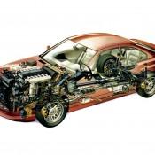 BMW 8 series E31 рентген