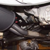 BMW E30 M3 задняя банка