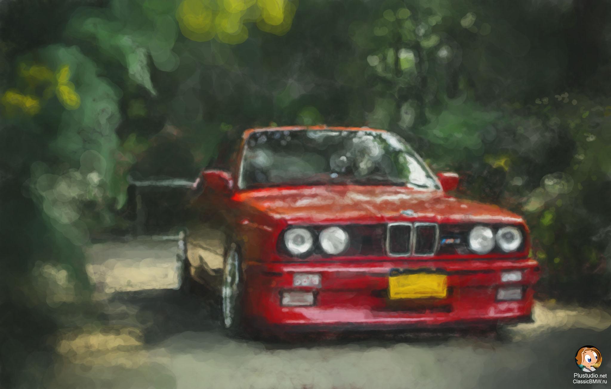 рисунок BMW M3