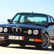 BMW M5 перед
