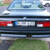 BMW M6 зад