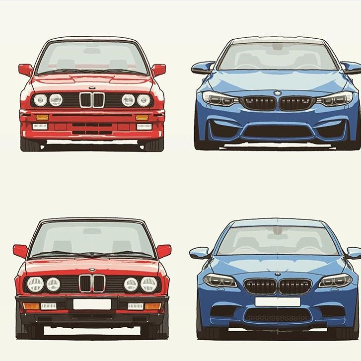 bmw 3 and 5