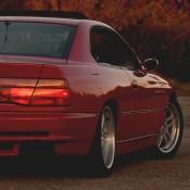 bmw 8 e31 red