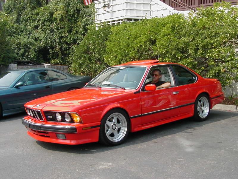 bmw e24 red