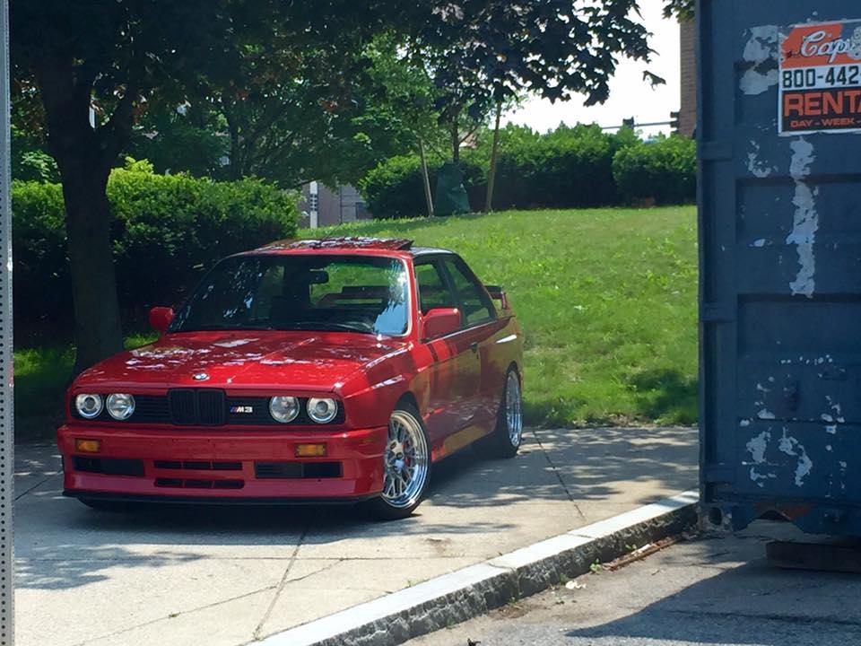 bmw m3 e30 red