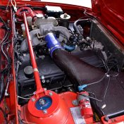 bmw m6 e24 red engine