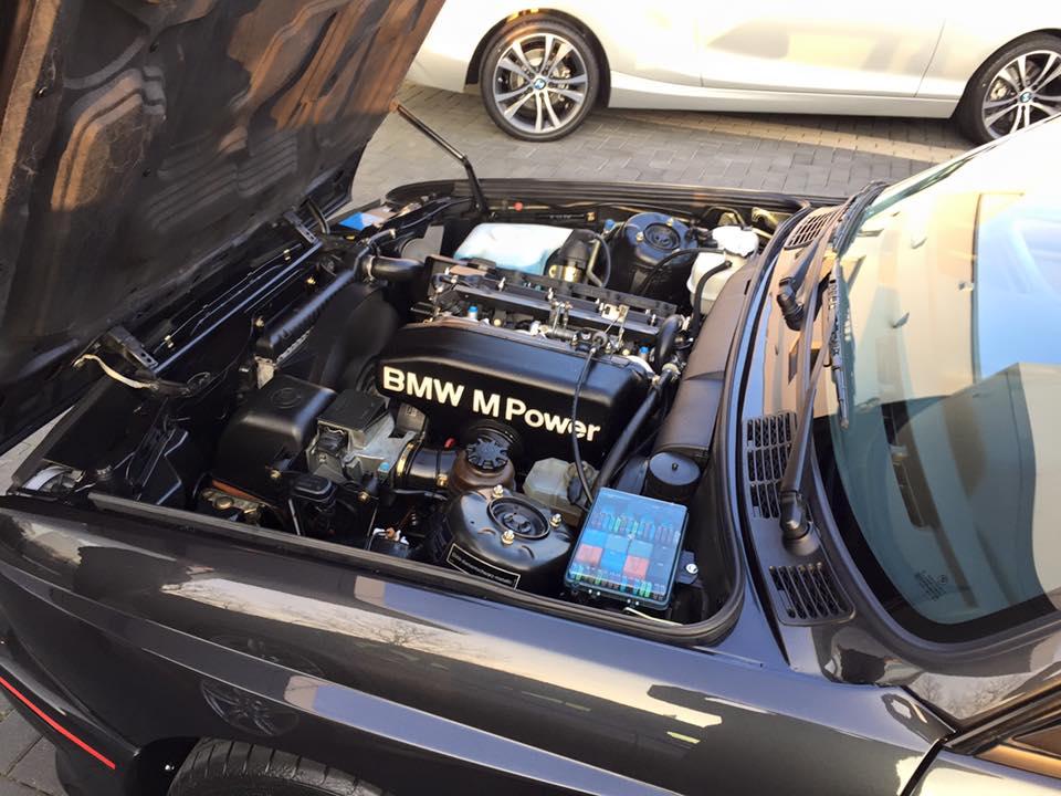 bmw m3 e30 под капотом