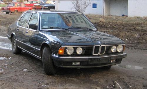 Покупка BMW e23 735i Highline 2