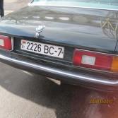 BMW e23 зад