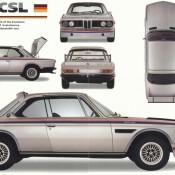 со всех сторон BMW CSL e9