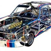 BMW CSL e9 рентген