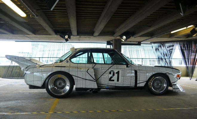 BMW CSL e9 сбоку