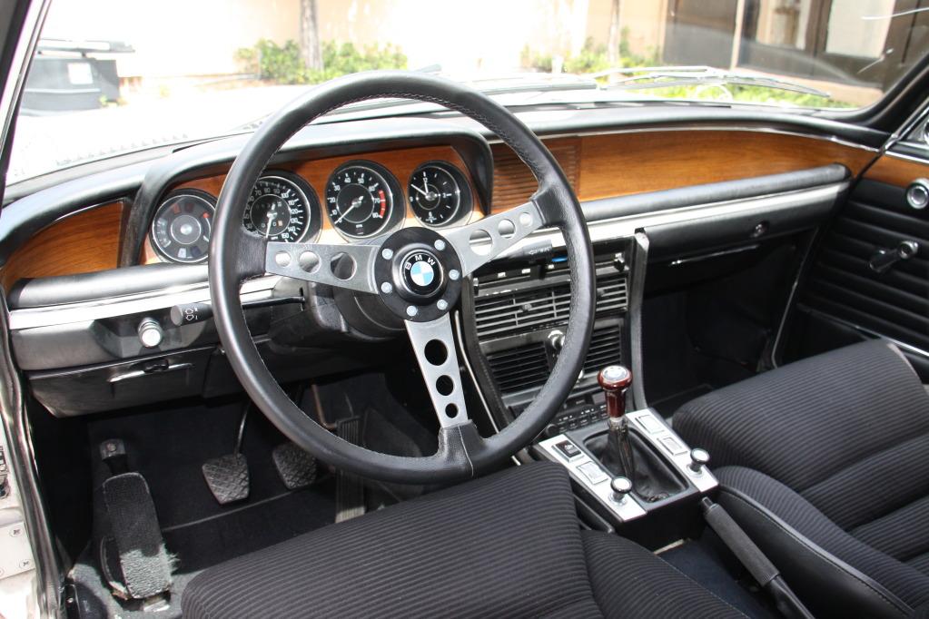 BMW CSL e9 салон