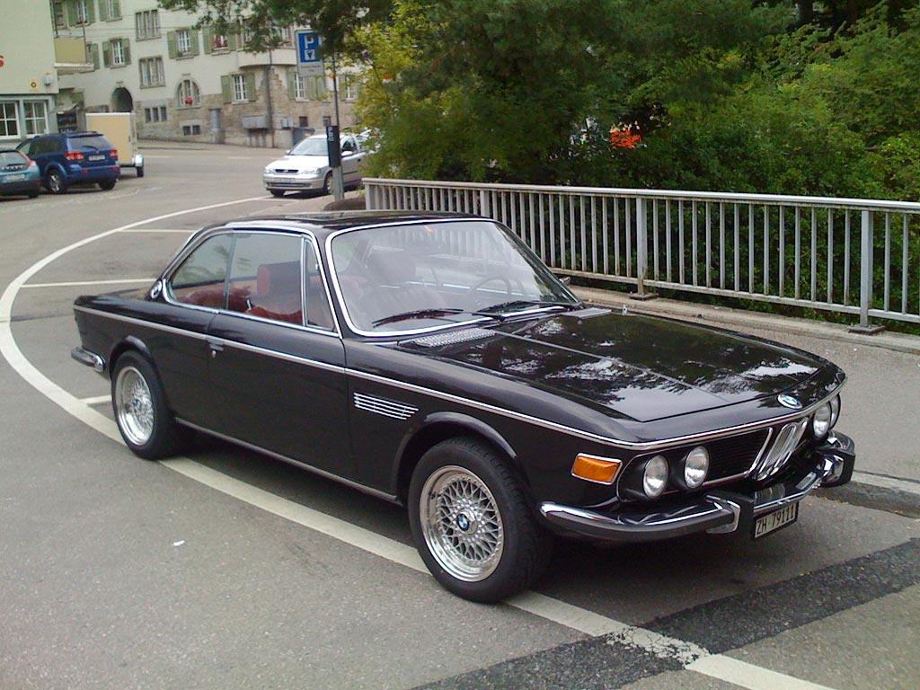 черная BMW e9