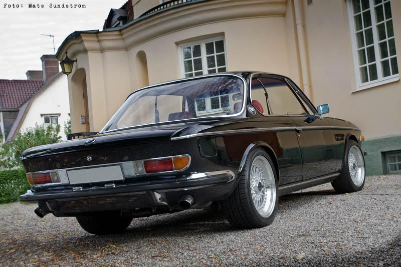 BMW e9 сзади