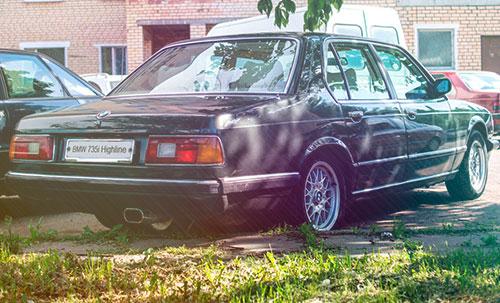 BMW e23 735i Highline Ремонт ч.10 Задняя подвеска