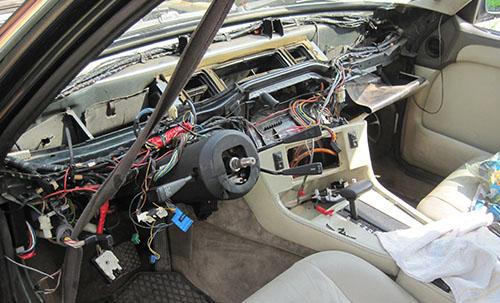 BMW проводка: схема