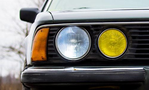 BMW e23 735i фары, Лампочки на машину