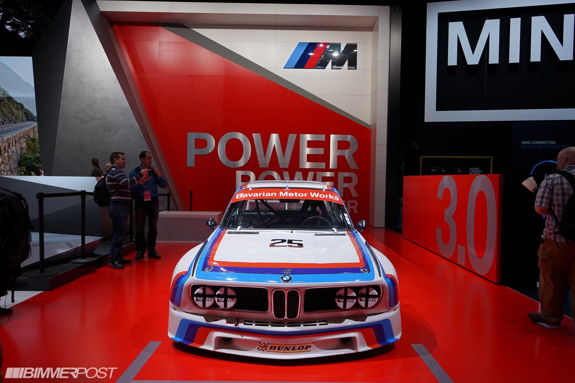 BMW e9 csl передок