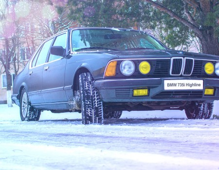 BMW e23 Аэродинамика