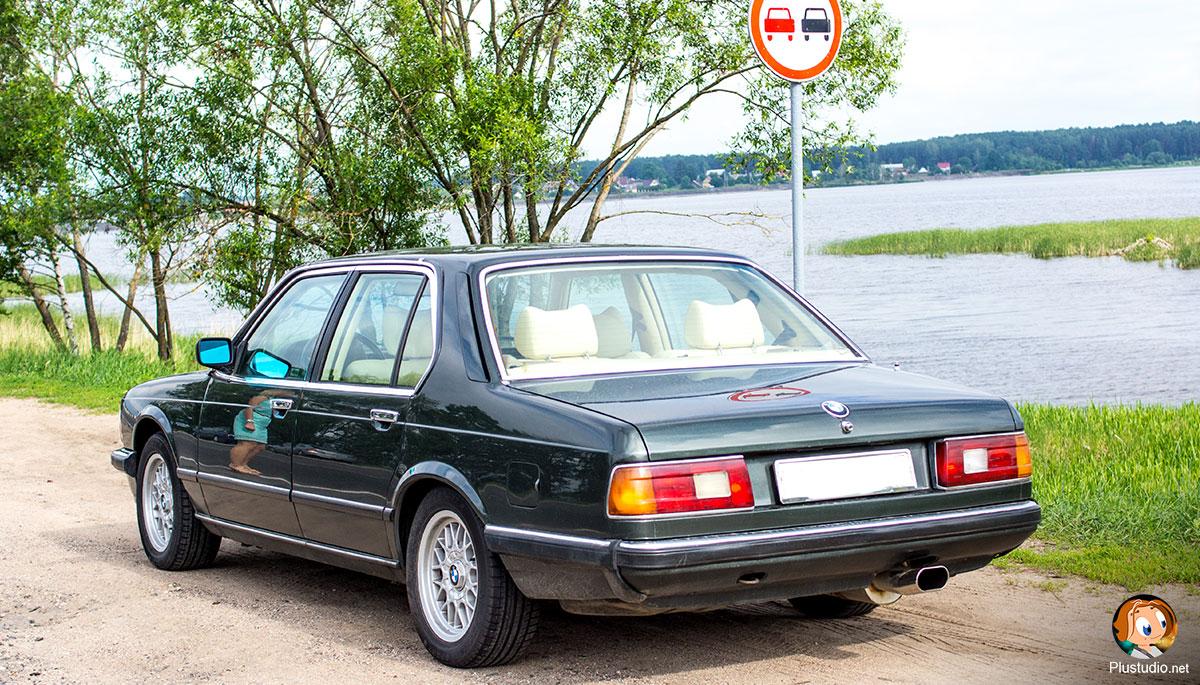 BMW e23 Выхлопная система