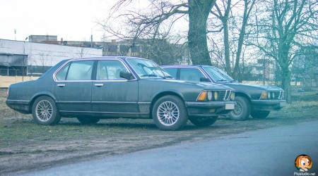 BMW 7 Масляный радиатор