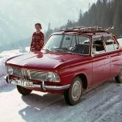 BMW 1500 в горах