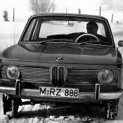 BMW 1500 в снегу