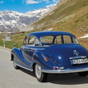 BMW 502 в горах