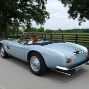 BMW 507 голубая