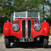 bmw 328 красный