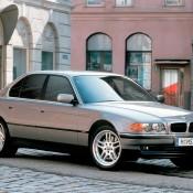 BMW 7 series E38 салон