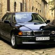 BMW 7 series E38 черная