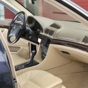 BMW E38 салон
